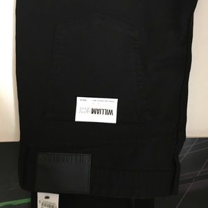 NWT men's William Rast jeans black 40x30